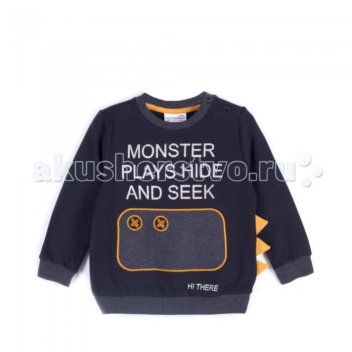 Детская одежда , Толстовки, свитшоты, худи Coccodrillo Свитшот для мальчика Boo арт: 402519 -  Толстовки, свитшоты, худи