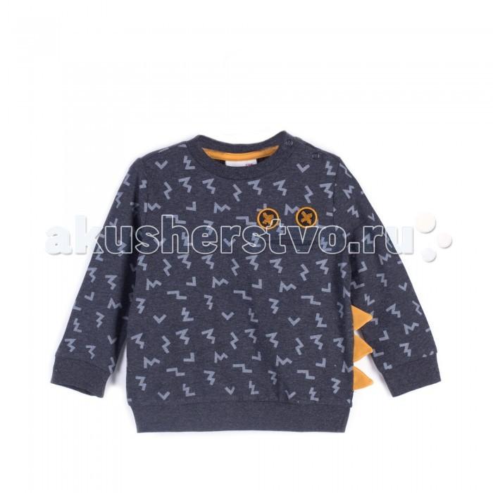Детская одежда , Толстовки, свитшоты, худи Coccodrillo Свитшот для мальчика Z17143104BOO Boo арт: 402559 -  Толстовки, свитшоты, худи