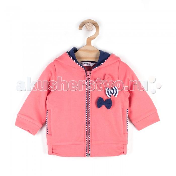 Детская одежда , Толстовки, свитшоты, худи Coccodrillo Толстовка для девочки Coral Reef арт: 509566 -  Толстовки, свитшоты, худи