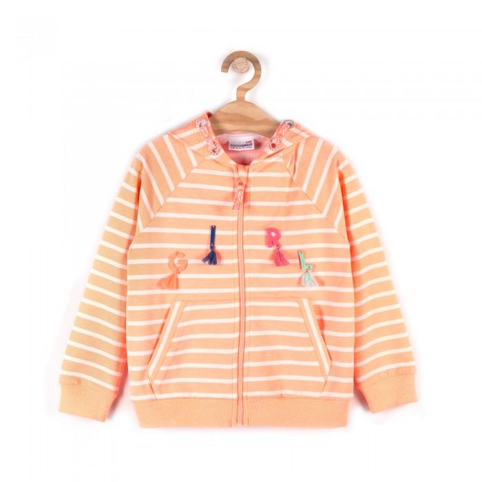 Детская одежда , Толстовки, свитшоты, худи Coccodrillo Толстовка для девочки Paradise арт: 512881 -  Толстовки, свитшоты, худи