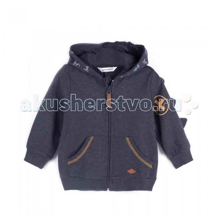 Детская одежда , Толстовки, свитшоты, худи Coccodrillo Толстовка для мальчика Boo арт: 402534 -  Толстовки, свитшоты, худи
