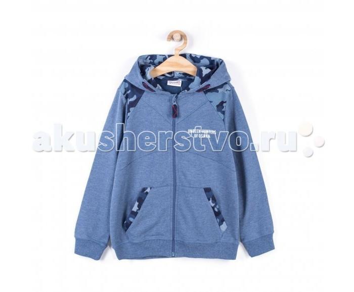 Детская одежда , Толстовки, свитшоты, худи Coccodrillo Толстовка для мальчика Japan Forever арт: 519926 -  Толстовки, свитшоты, худи