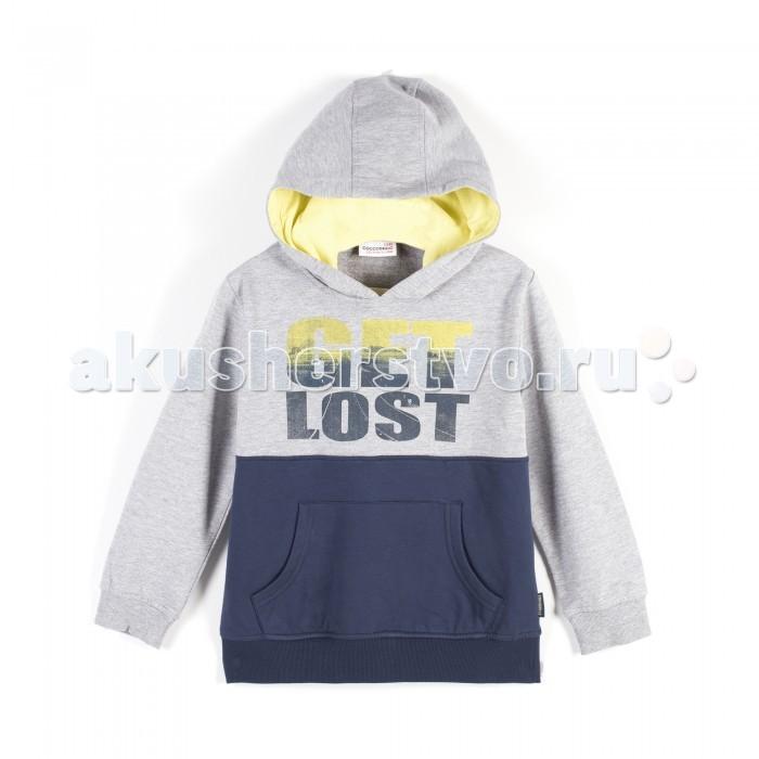 Детская одежда , Толстовки, свитшоты, худи Coccodrillo Толстовка для мальчика On My Way арт: 380974 -  Толстовки, свитшоты, худи