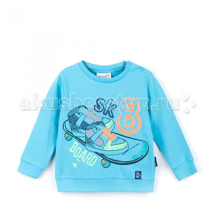 Водолазки и лонгсливы Coccodrillo Толстовка для мальчика Skate Board Z16143102SKA