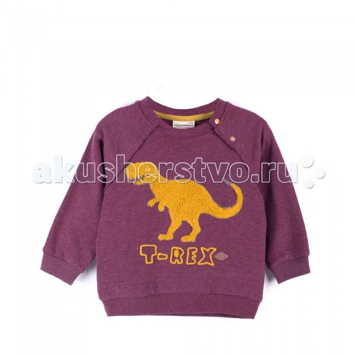 Детская одежда , Толстовки, свитшоты, худи Coccodrillo Толстовка для мальчика Stegosaurus арт: 402549 -  Толстовки, свитшоты, худи