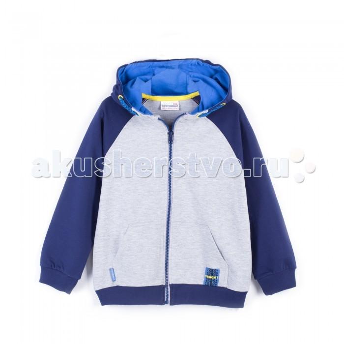 Детская одежда , Толстовки, свитшоты, худи Coccodrillo Толстовка для мальчика Truck арт: 402554 -  Толстовки, свитшоты, худи