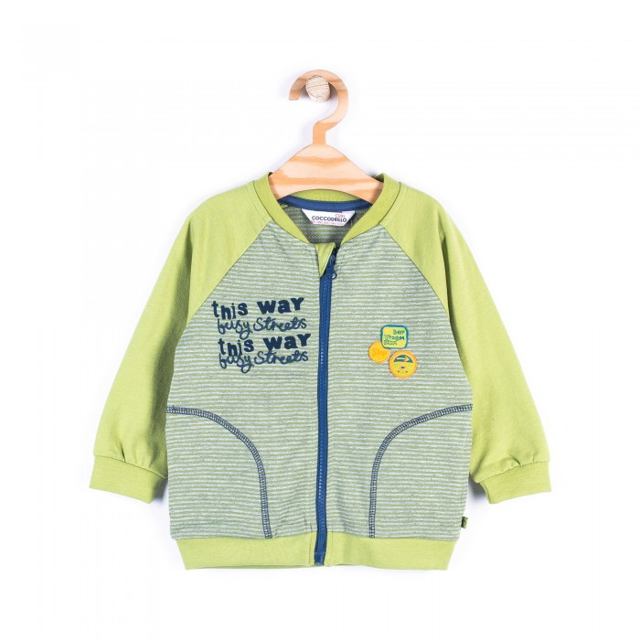 Толстовки, свитшоты, худи Coccodrillo Толстовка для мальчика Z17132201CAR Cars