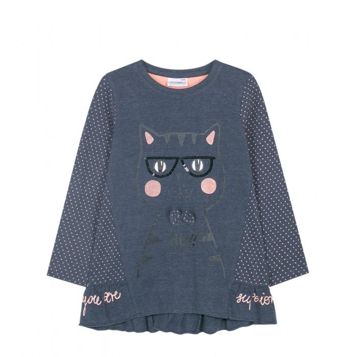 Coccodrillo Туника для девочки Love cats W19144101LOV