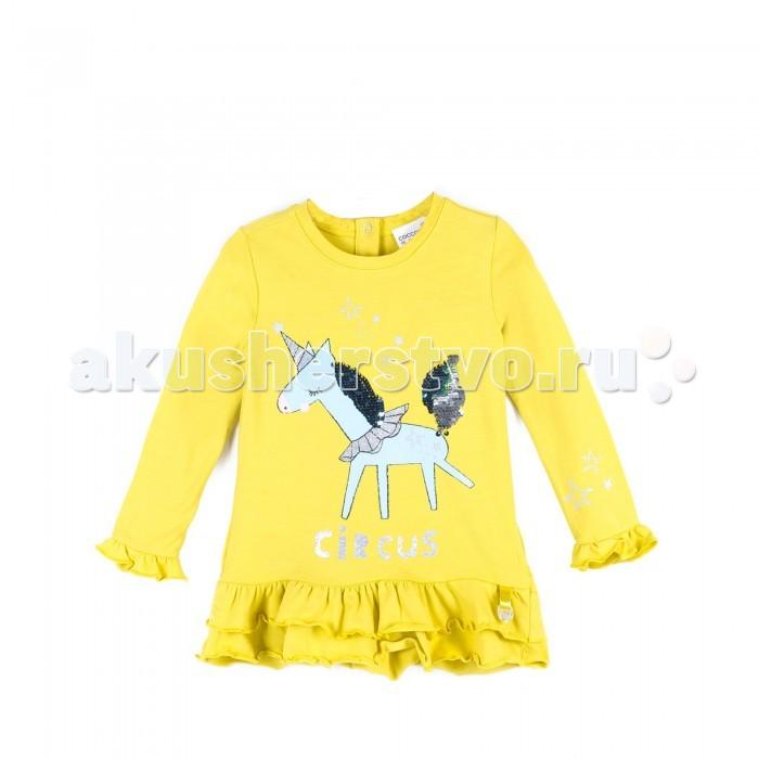 Детская одежда , Футболки и топы Coccodrillo Туника для девочки Magic is all around арт: 409599 -  Футболки и топы