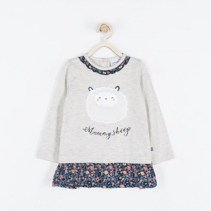 Водолазки и лонгсливы Coccodrillo Туника для девочки Mummy sheep, Водолазки и лонгсливы - артикул:584886