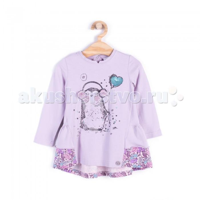 Детская одежда , Толстовки, свитшоты, худи Coccodrillo Туника для девочки Penguin арт: 408574 -  Толстовки, свитшоты, худи