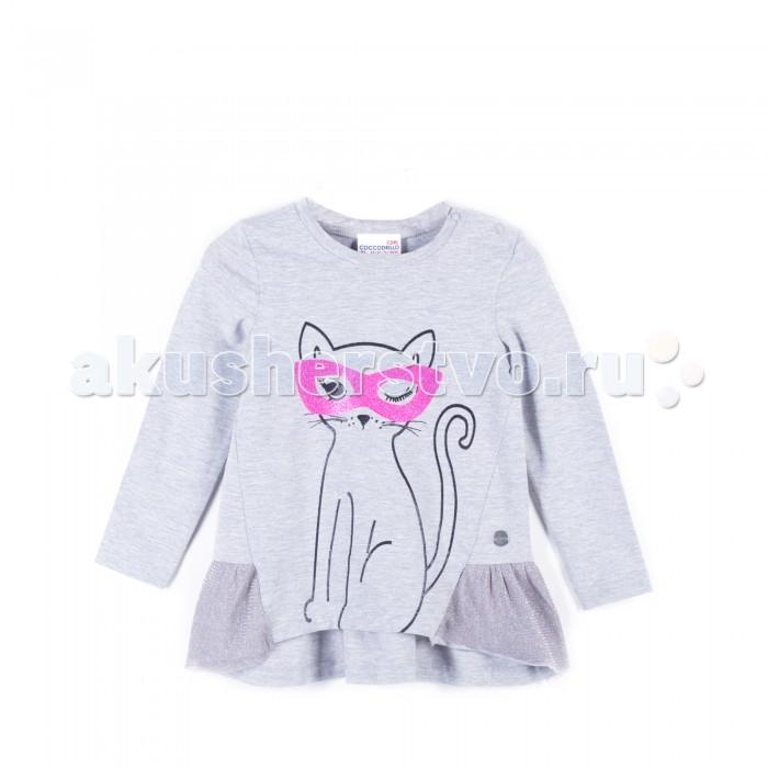 Детская одежда , Толстовки, свитшоты, худи Coccodrillo Туника для девочки Super girl арт: 403344 -  Толстовки, свитшоты, худи