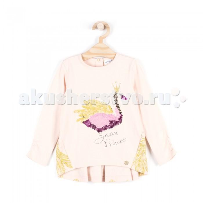 Детская одежда , Толстовки, свитшоты, худи Coccodrillo Туника для девочки Swan princess арт: 408659 -  Толстовки, свитшоты, худи