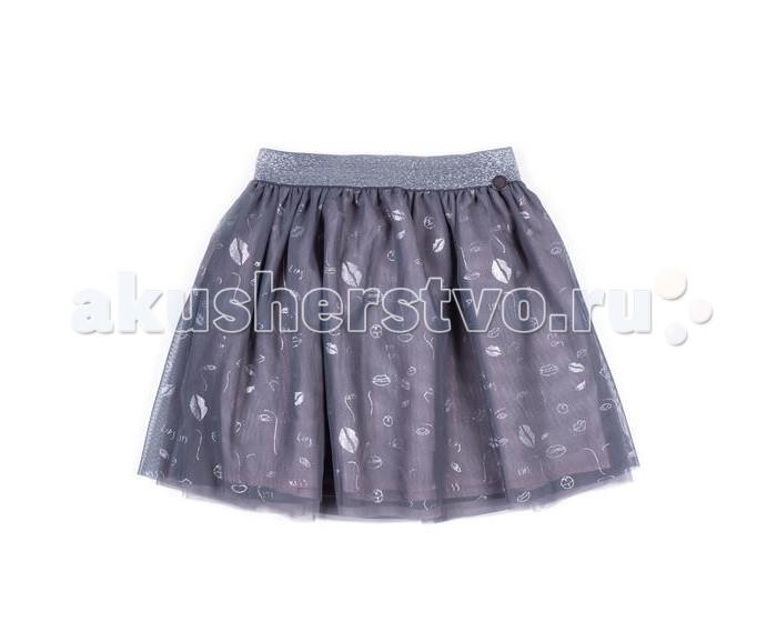 Юбки Coccodrillo Юбка для девочки Lips юбка короткая из джинсовой ткани