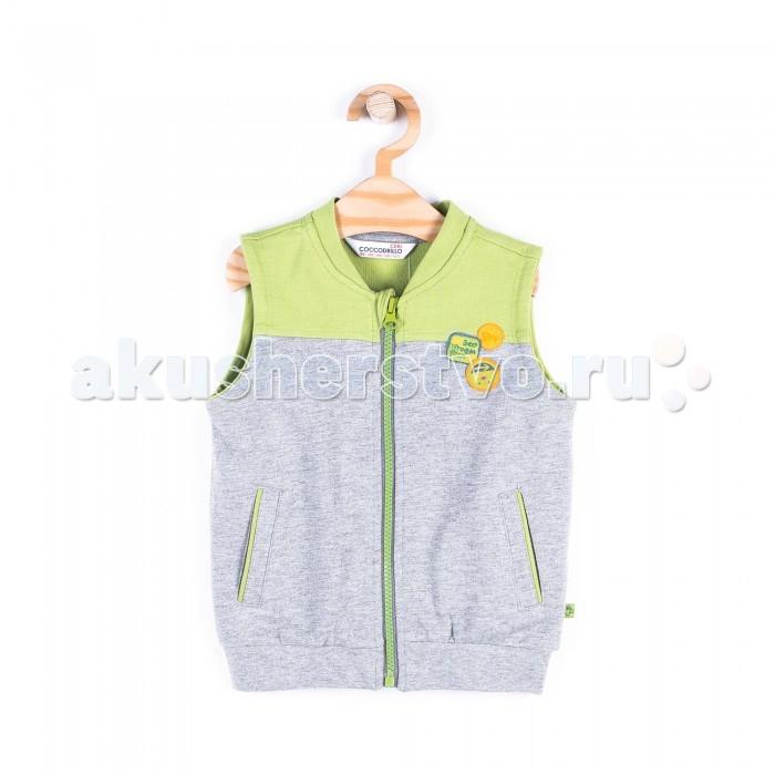 Детская одежда , Пиджаки, жакеты, жилетки Coccodrillo Жилет для мальчика Cars арт: 407669 -  Пиджаки, жакеты, жилетки