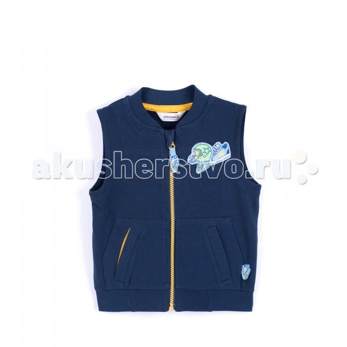 Детская одежда , Пиджаки, жакеты, жилетки Coccodrillo Жилет для мальчика Run арт: 381509 -  Пиджаки, жакеты, жилетки