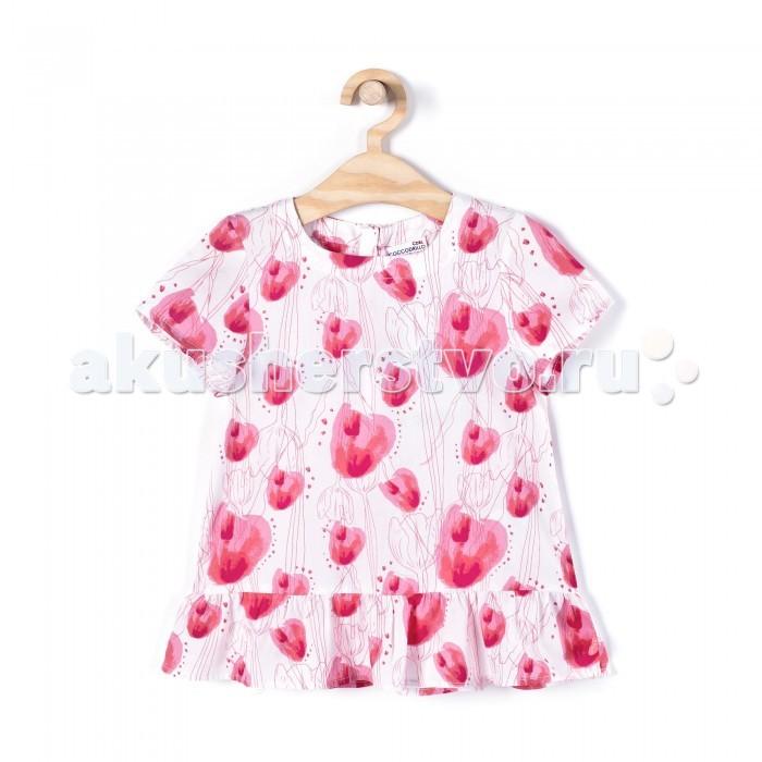Детская одежда , Блузки и рубашки Coccodrillo Блузка для девочки Lovely арт: 333225 -  Блузки и рубашки