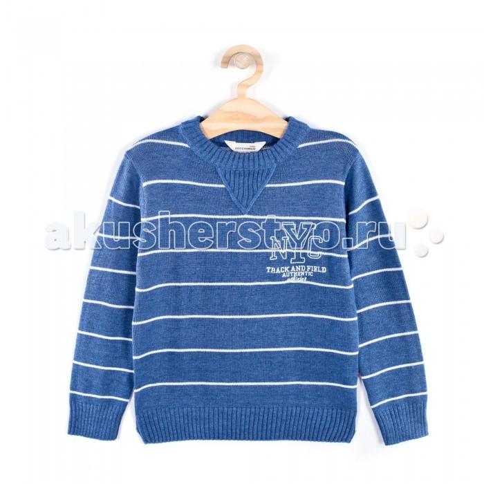 Детская одежда , Джемперы, свитера, пуловеры Coccodrillo Джемпер для мальчика New York City арт: 334140 -  Джемперы, свитера, пуловеры