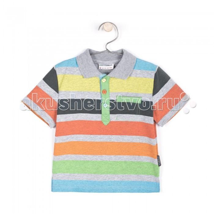 Детская одежда , Футболки и топы Coccodrillo Футболка-поло для мальчика Best Skater арт: 327634 -  Футболки и топы