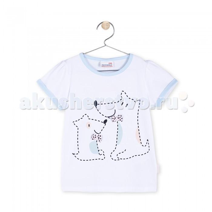 Детская одежда , Футболки и топы Coccodrillo Футболка для девочки Cats арт: 327484 -  Футболки и топы