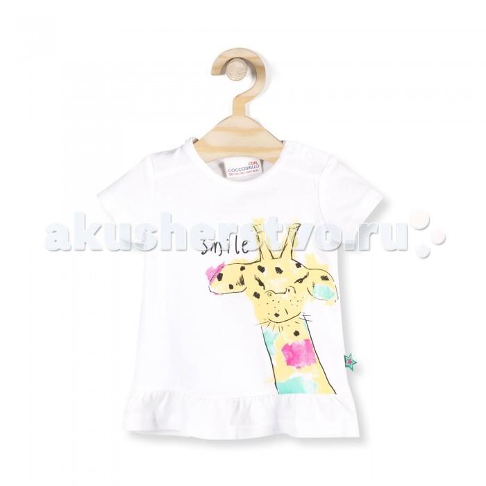 Детская одежда , Футболки и топы Coccodrillo Футболка для девочки Smile арт: 338100 -  Футболки и топы