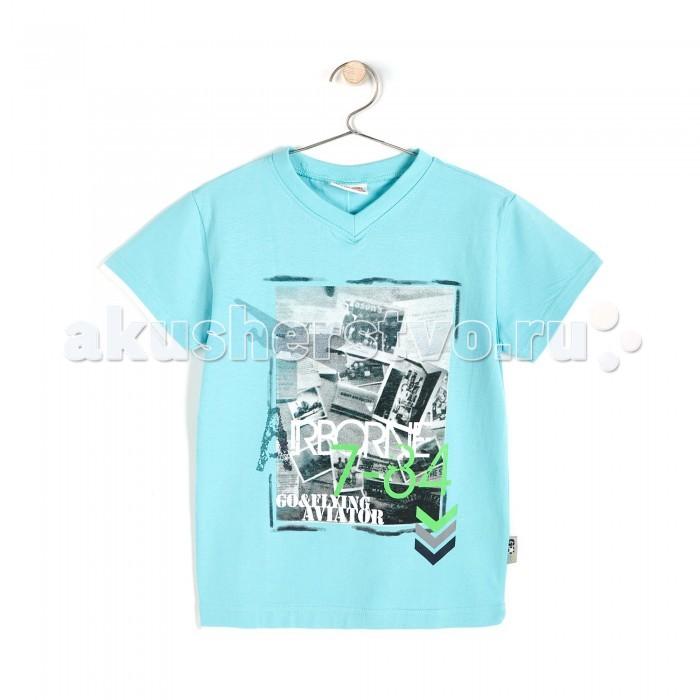 Детская одежда , Футболки и топы Coccodrillo Футболка для мальчика Go and Fly арт: 327499 -  Футболки и топы