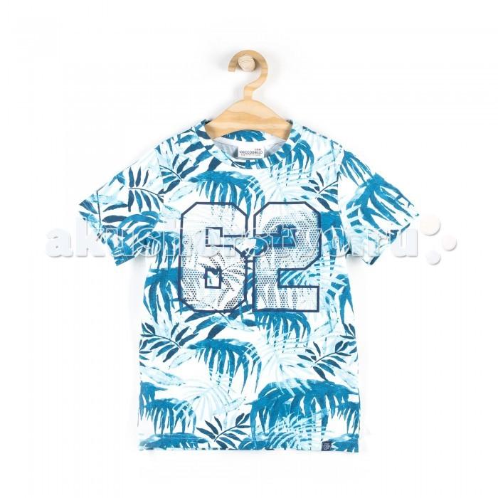 Детская одежда , Футболки и топы Coccodrillo Футболка для мальчика Hello Summer арт: 338600 -  Футболки и топы