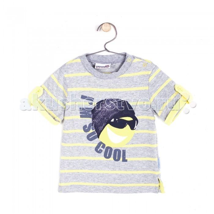 Детская одежда , Футболки и топы Coccodrillo Футболка для мальчика Im so Cool арт: 327569 -  Футболки и топы