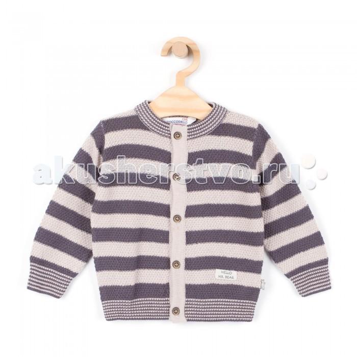 Детская одежда , Кофты и кардиганы Coccodrillo Кардиган детский Hello Mr.Bear арт: 341305 -  Кофты и кардиганы