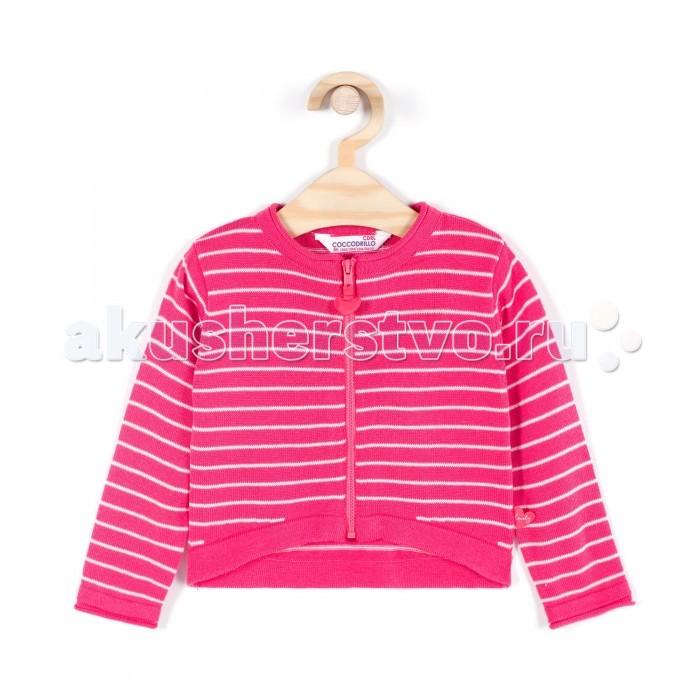 Детская одежда , Кофты и кардиганы Coccodrillo Кардиган для девочки Lovely арт: 334160 -  Кофты и кардиганы