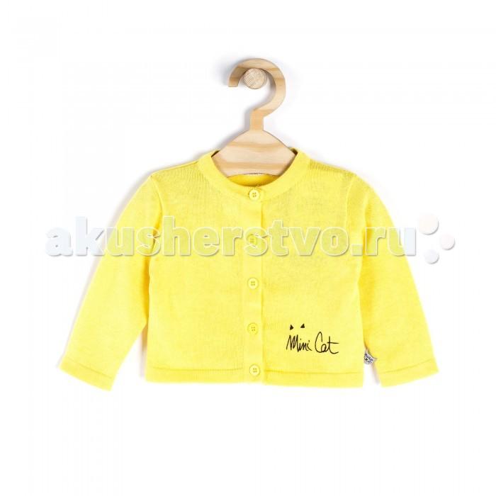Детская одежда , Кофты и кардиганы Coccodrillo Кардиган для девочки Mini Cat арт: 334165 -  Кофты и кардиганы