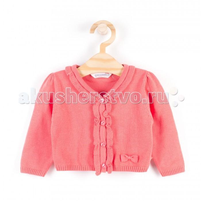 Детская одежда , Кофты и кардиганы Coccodrillo Кардиган для девочки Mon Jardin арт: 339460 -  Кофты и кардиганы