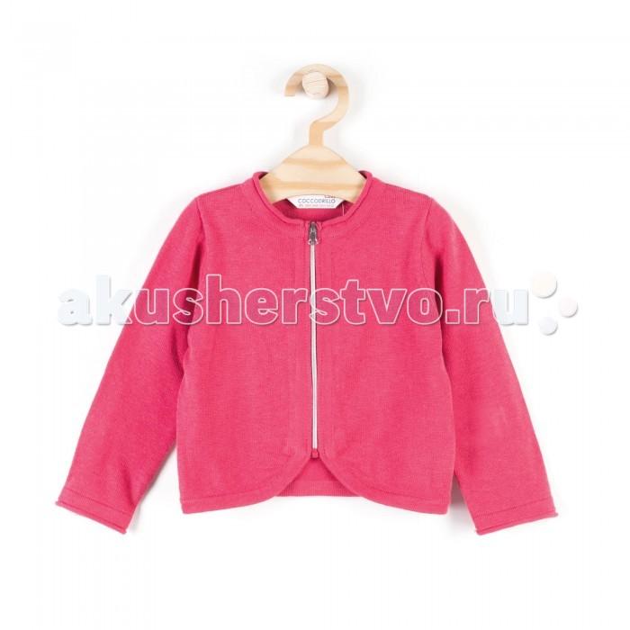 Детская одежда , Кофты и кардиганы Coccodrillo Кардиган для девочки Sweetie and Cute арт: 339470 -  Кофты и кардиганы