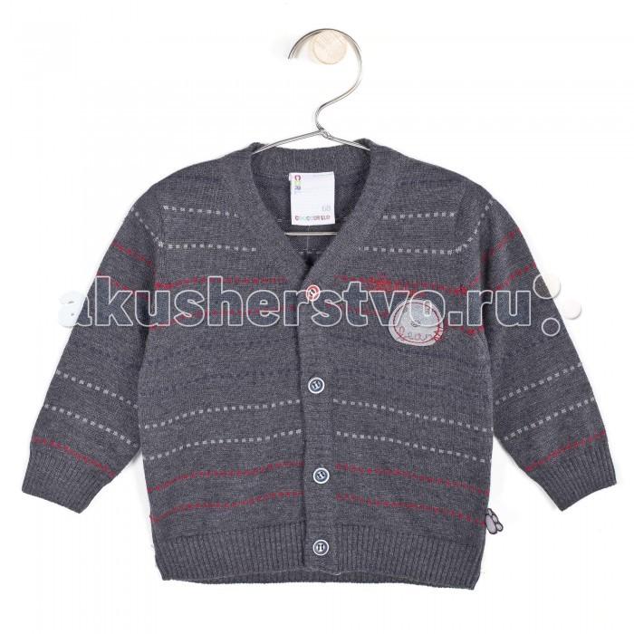 Детская одежда , Кофты и кардиганы Coccodrillo Кардиган для мальчика Autumn арт: 340095 -  Кофты и кардиганы