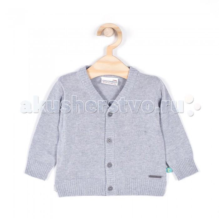 Детская одежда , Кофты и кардиганы Coccodrillo Кардиган для мальчика Fun арт: 334150 -  Кофты и кардиганы
