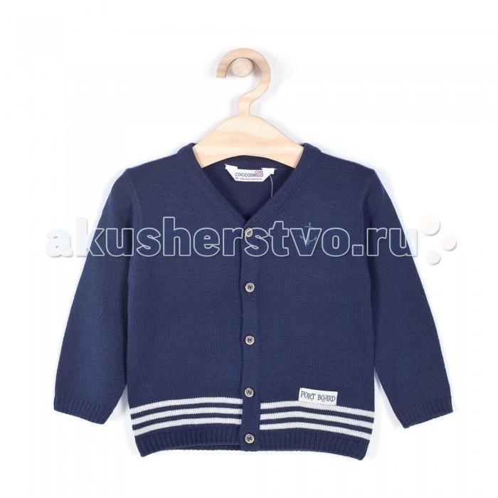 Детская одежда , Кофты и кардиганы Coccodrillo Кардиган для мальчика Little Sailor арт: 334155 -  Кофты и кардиганы