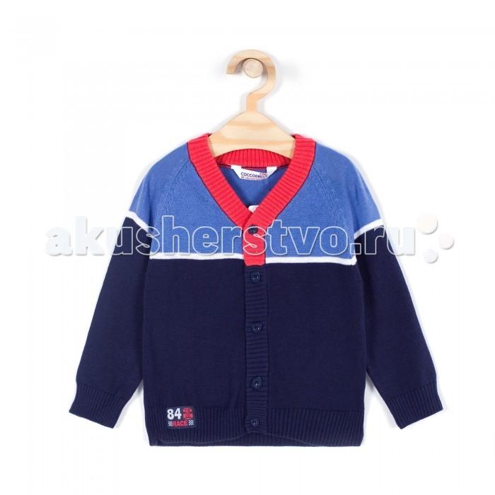 Детская одежда , Кофты и кардиганы Coccodrillo Кардиган для мальчика Racer арт: 334170 -  Кофты и кардиганы
