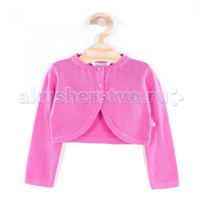Детская одежда , Кофты и кардиганы Coccodrillo Кофта для девочки Love you арт: 334260 -  Кофты и кардиганы