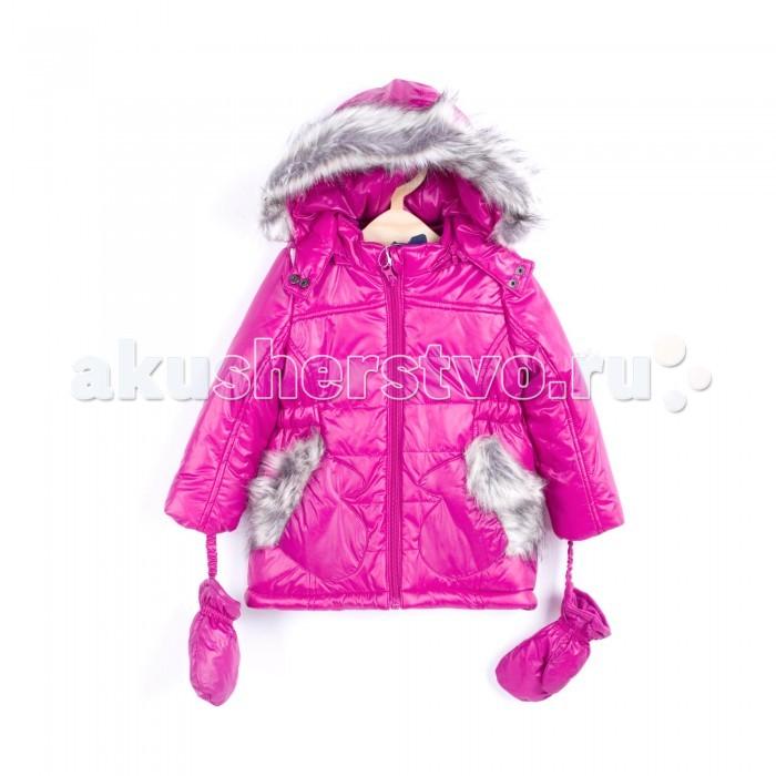 Coccodrillo Куртка для девочки Cool TeamКуртка для девочки Cool TeamCoccodrillo Куртка для девочки Cool Team  Куртка с капюшоном и варежками на холодную погоду. Отделка искусственным мехом.  Состав: 100% полиамид Рекомендации по уходу: автоматическая стирка при температуре до 40 С.  Coccodrillo является одним из крупнейших производителей детской и подростковой одежды по всей Европе. Компания существует с 1990 года и сегодня сотрудничает с 27 странами по всему миру. Она также входит в топ пяти наиболее популярных европейских марок детской одежды.  Изделия не вызывают аллергических реакций. В их составе &#8722; только экологически чистые волокна, которые обрабатываются с использованием высоких технологий и современного оборудования, что обеспечивает ткани высокую степень износостойкости и гарантирует долгую насыщенность цветовой гаммы, а также высокое качество печати рисунка.<br>