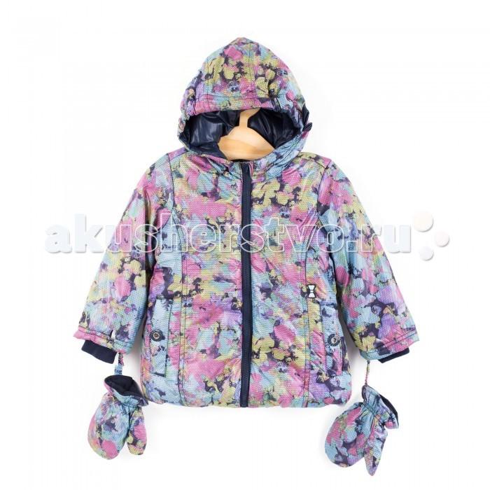 Coccodrillo Куртка для девочки CuteКуртка для девочки CuteCoccodrillo Куртка для девочки Cute  Куртка с капюшоном и варежками на холодную погоду с цветочным принтом. По бокам карманы. Дополнительные трикотажные манжеты в рукавах.  Состав: 100% полиэстер Рекомендации по уходу: автоматическая стирка при температуре до 40 С.  Coccodrillo является одним из крупнейших производителей детской и подростковой одежды по всей Европе. Компания существует с 1990 года и сегодня сотрудничает с 27 странами по всему миру. Она также входит в топ пяти наиболее популярных европейских марок детской одежды.  Изделия не вызывают аллергических реакций. В их составе &#8722; только экологически чистые волокна, которые обрабатываются с использованием высоких технологий и современного оборудования, что обеспечивает ткани высокую степень износостойкости и гарантирует долгую насыщенность цветовой гаммы, а также высокое качество печати рисунка.<br>
