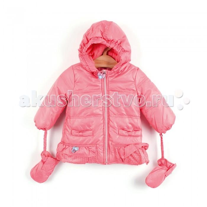 Coccodrillo Куртка для девочки Im so QuietКуртка для девочки Im so QuietCoccodrillo Куртка для девочки Im so Quiet  Теплая куртка с капюшоном и отстегивающимися варежками на резинке, 2 кармана. Застежка на молнию На рукавах манжеты-резинки, по низу воланы.  Состав: 100% полиэстер Рекомендации по уходу: автоматическая стирка при температуре до 40 С.  Coccodrillo является одним из крупнейших производителей детской и подростковой одежды по всей Европе. Компания существует с 1990 года и сегодня сотрудничает с 27 странами по всему миру. Она также входит в топ пяти наиболее популярных европейских марок детской одежды.  Изделия не вызывают аллергических реакций. В их составе &#8722; только экологически чистые волокна, которые обрабатываются с использованием высоких технологий и современного оборудования, что обеспечивает ткани высокую степень износостойкости и гарантирует долгую насыщенность цветовой гаммы, а также высокое качество печати рисунка.<br>