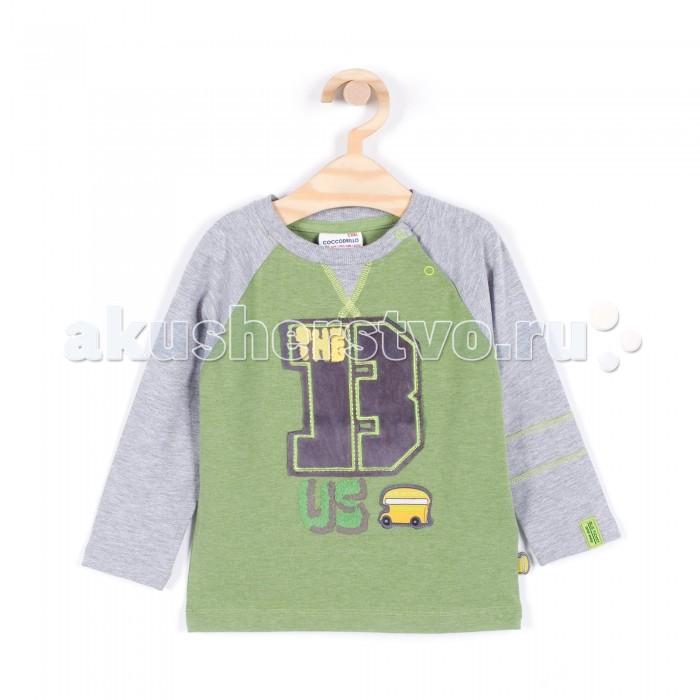 Детская одежда , Водолазки и лонгсливы Coccodrillo Лонгслив для мальчика Bus арт: 341085 -  Водолазки и лонгсливы