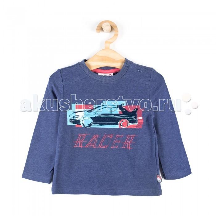 Детская одежда , Водолазки и лонгсливы Coccodrillo Лонгслив для мальчика Cars арт: 337750 -  Водолазки и лонгсливы