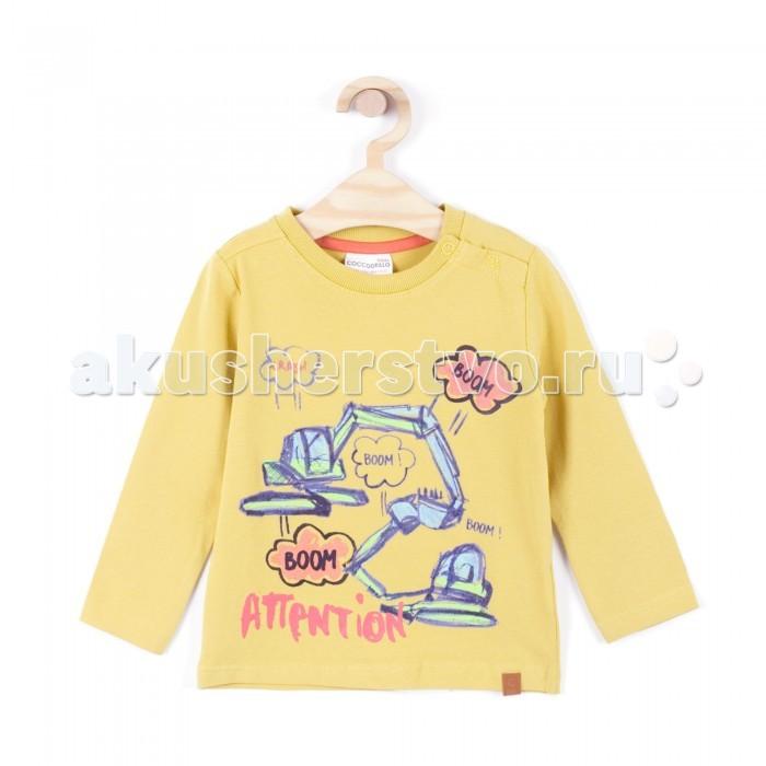Детская одежда , Водолазки и лонгсливы Coccodrillo Лонгслив для мальчика Crash арт: 341100 -  Водолазки и лонгсливы