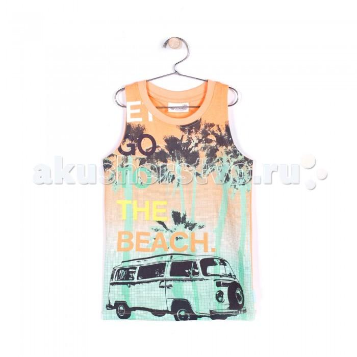 Детская одежда , Футболки и топы Coccodrillo Майка для мальчика Beach Side арт: 327624 -  Футболки и топы