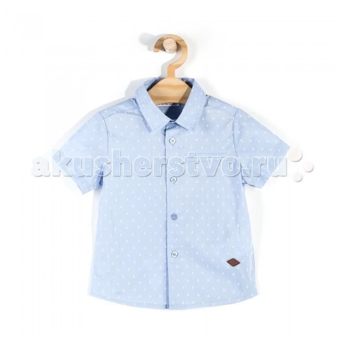 Детская одежда , Блузки и рубашки Coccodrillo Рубашка для мальчика Sailing World арт: 337520 -  Блузки и рубашки