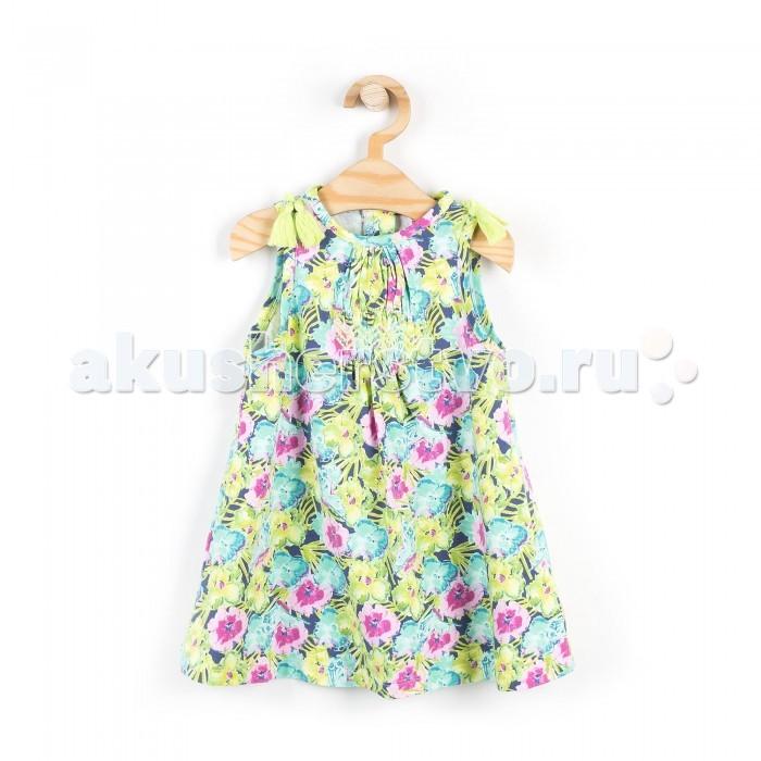 Детские платья и сарафаны Coccodrillo Сарафан для девочки Tropical сарафаны doctor e сарафан