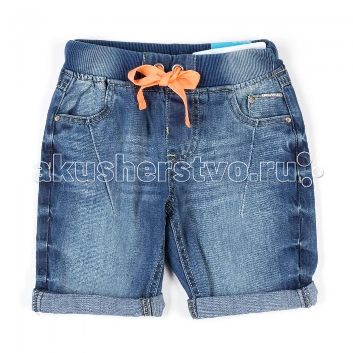 Детская одежда , Шорты и бриджи Coccodrillo Шорты джинсовые для мальчика W17119501CJB арт: 334480 -  Шорты и бриджи