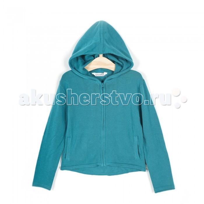 Детская одежда , Толстовки, свитшоты, худи Coccodrillo Толстовка для девочки Delicious Apple арт: 334240 -  Толстовки, свитшоты, худи