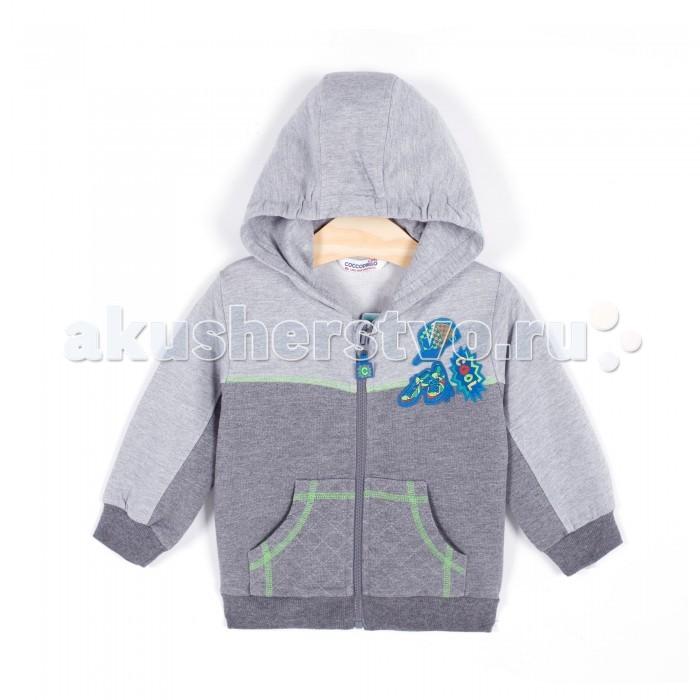 Детская одежда , Толстовки, свитшоты, худи Coccodrillo Толстовка с капюшоном для мальчика Cool арт: 340285 -  Толстовки, свитшоты, худи